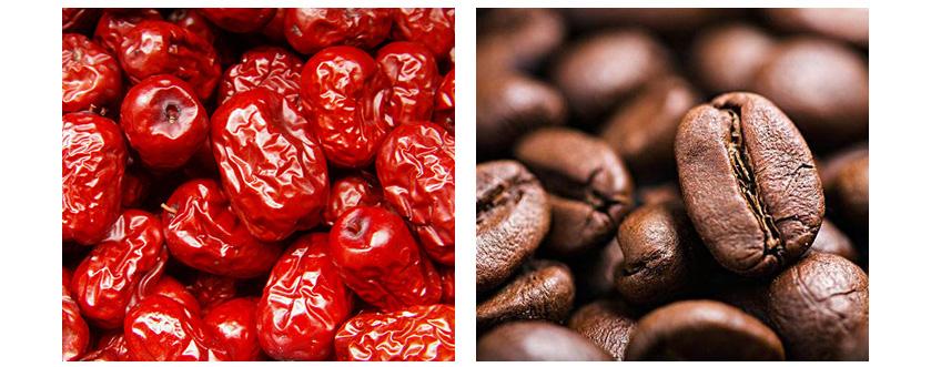 红枣和咖啡