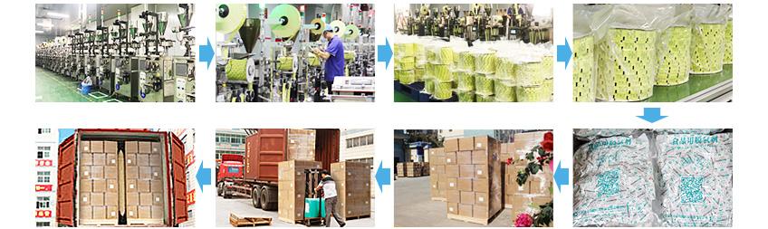 脱氧剂生产及装箱