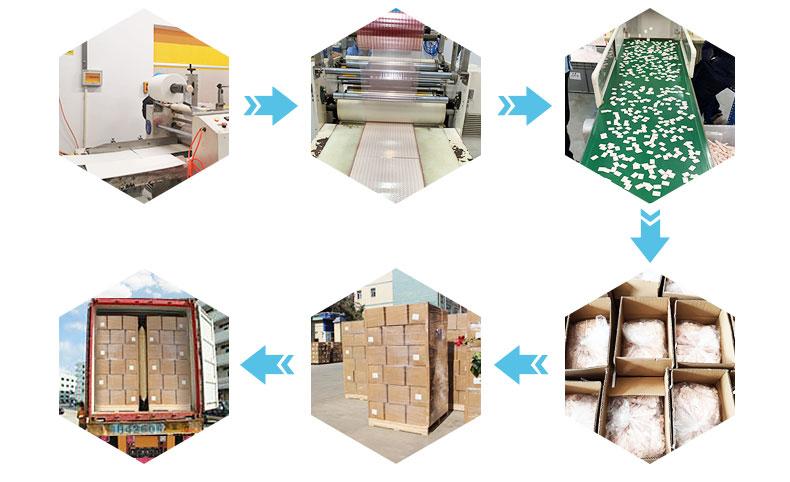 纤维干燥剂产品装箱及运输